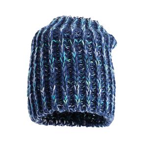 czapka-welniana-bez-pompona-granatowa