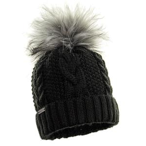 czapka-welniana-czarna-z-pomponem