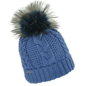 czapka-welniana-niebieska-z-pomponem