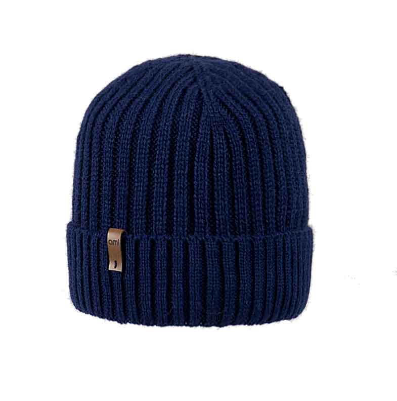 czapka-meska-granatowa-mlodziezowa