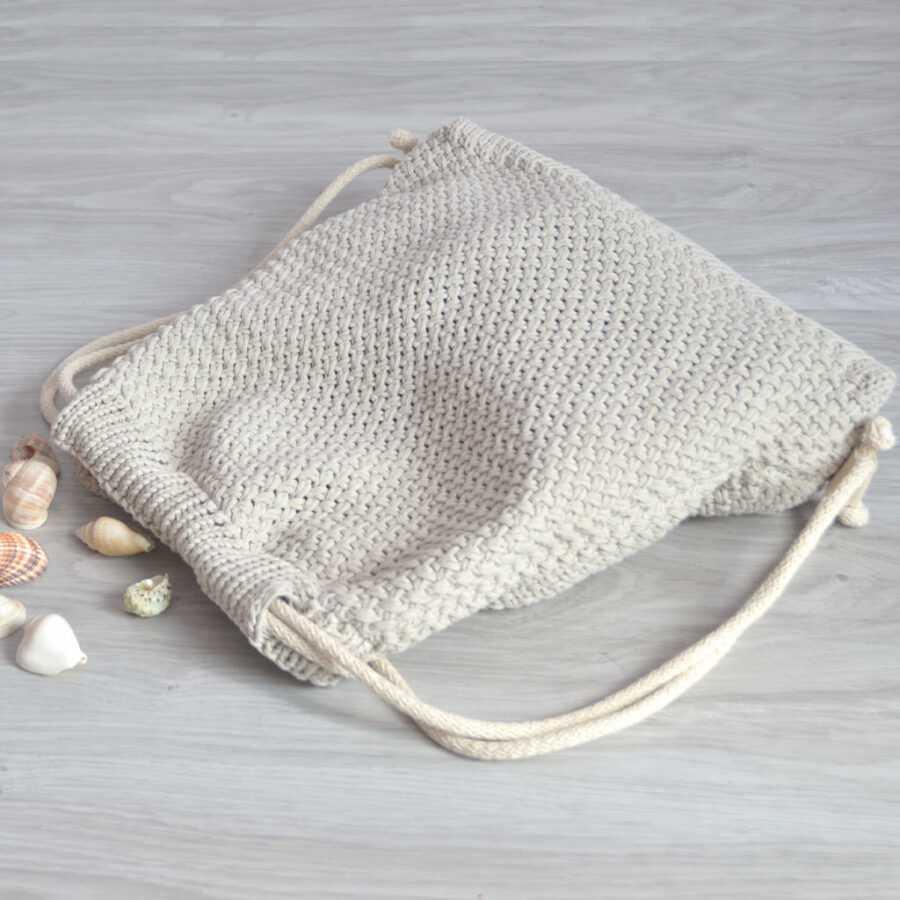 Torba worek z bawełny ekologicznej