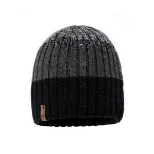 czapka-meska-czarno-szara-podszewka-bawelniana