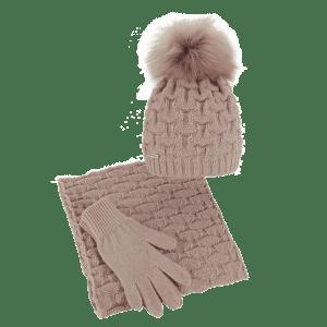 czapka-komin-rekawiczki-pudrowy-roz