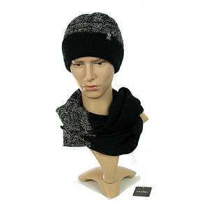 czapka-meska-z-kominem-czarna-krotka